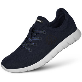 Giesswein Merino Wool Runners Heren, dark blue